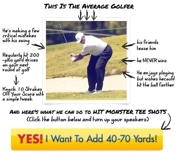 Monster Golf Swing